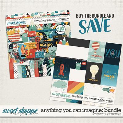 Anything You Can Imagine: Bundle by Shawna Clingerman