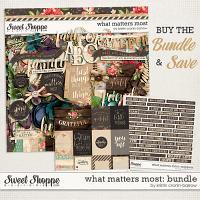 What Matters Most: Bundle by Kristin Cronin-Barrow