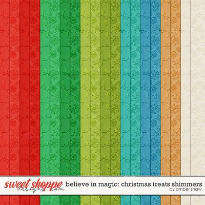 Believe in Magic: Christmas Treats Shimmers by Amber Shaw