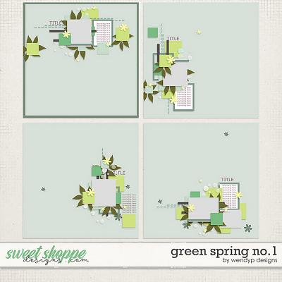Green Spring No.1 by WendyP Designs