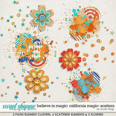 Believe in Magic: CALIFORNIA MAGIC- SCATTERZ by Studio Flergs