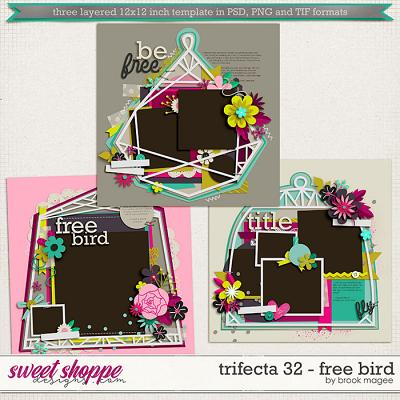 Brook's Templates - Trifecta 32 - Free Bird by Brook Magee