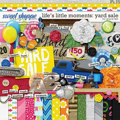 Life's Little Moments Yard Sale by Grace Lee