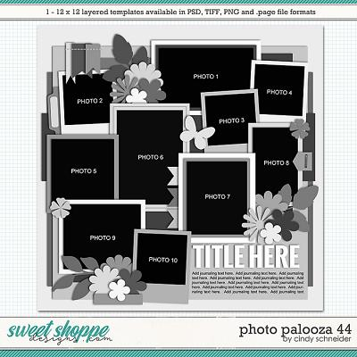 Cindy's Layered Templates - Photo Palooza 44 by Cindy Schneider