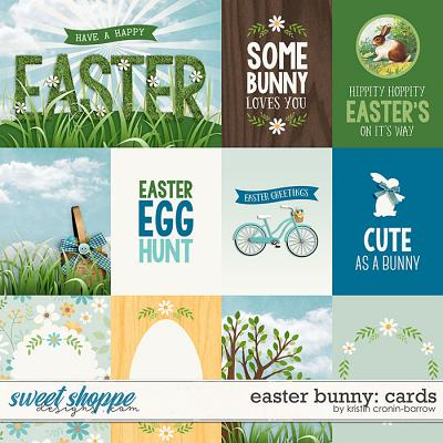 Easter Bunny: Cards by Kristin Cronin-Barrow