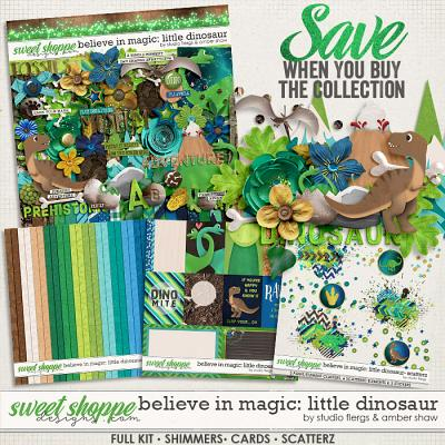 Believe in Magic Little Dinosaur: Collection by Amber Shaw & Studio Flergs