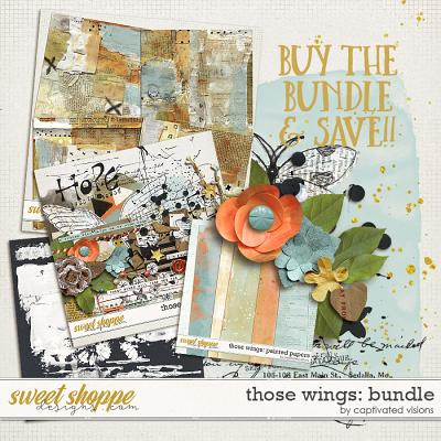 Those Wings: Bundle by Captivated Visions