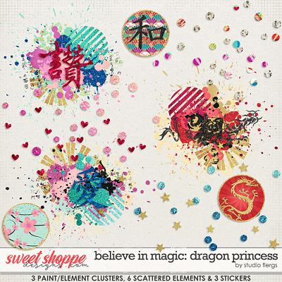 Believe in Magic: Dragon Princess SCATTERZ by Studio Flergs