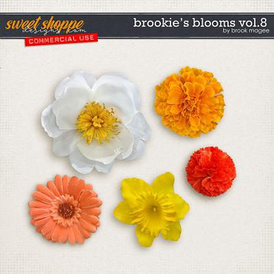 Brookie's Blooms Vol.8 - CU - by Brook Magee