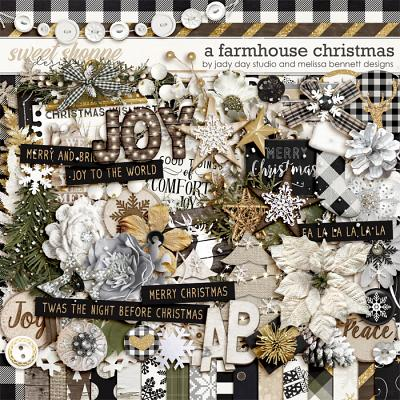 A Farmhouse Christmas by Jady Day Studio & Melissa Bennett