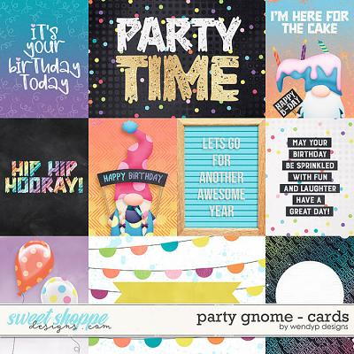 Party Gnome - Cards by WendyP Designs