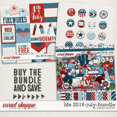 Life 2016-July Bundle by Melissa Bennett