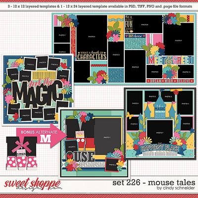 Cindy's Layerd Templates - Set 226: Mouse Tales by Cindy Schneider