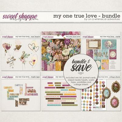 My One True Love Bundle by On A Whimsical Adventure