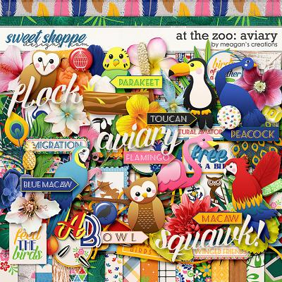 At the Zoo: Aviary by Meagan's Creations
