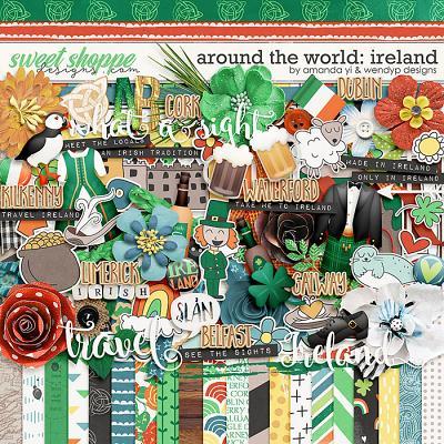 Around the world: Ireland by Amanda Yi & WendyP Designs