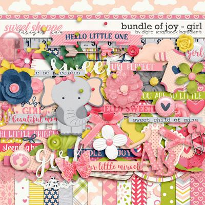 Bundle Of Joy - Girl by Digital Scrapbook Ingredients