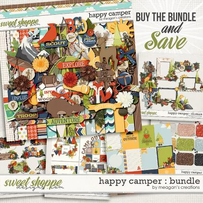 Happy Camper : Bundle by Meagan's Creations