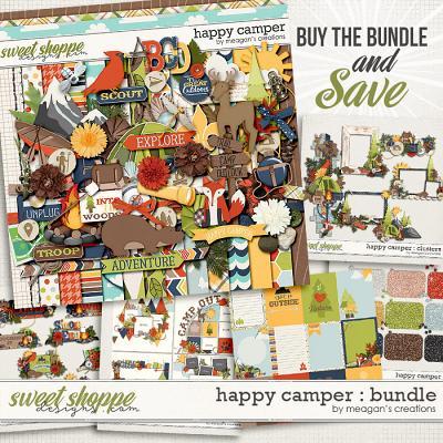Happy Camper : Bundle by Meagan's Creations