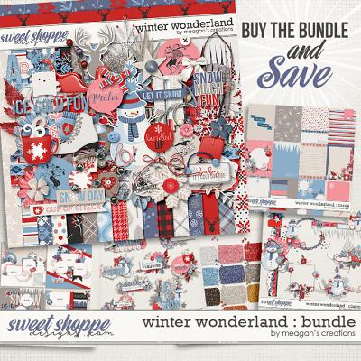 Winter Wonderland : Bundle by Meagan's Creations
