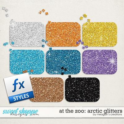 At the Zoo: Arctic Glitters by Meagan's Creations
