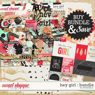 Hey Girl : Bundle by Amanda Yi