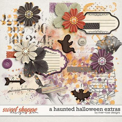 A Haunted Halloween Extras by River Rose Designs