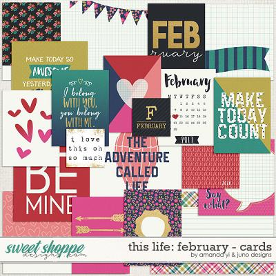 This Life: February - Cards by Amanda Yi & Juno Designs