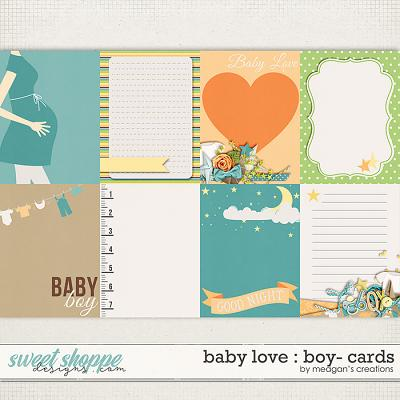 Baby Love {Boy} : Cards by Meagan's Creations