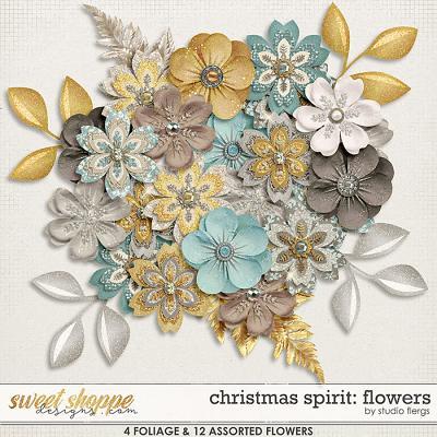 Christmas Spirit: FLOWERS by Studio Flergs