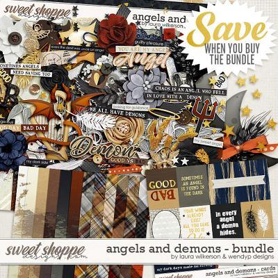 Angels & Demons - bundle by Laura Wilkerson & WendyP Designs