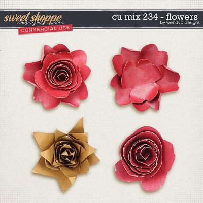 CU Mix 234 - Flowers by WendyP Designs