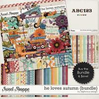 He Loves Autumn {Bundle} by Digilicious Design