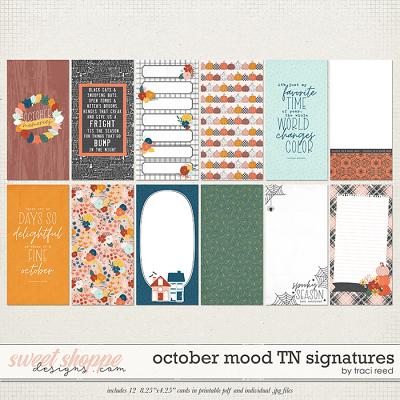 October Mood TN Signatures by Traci Reed