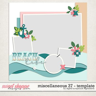 Miscellaneous 37 Template by Digital Scrapbook Ingredients