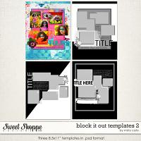 Block It Out Templates 2 by Misty Cato