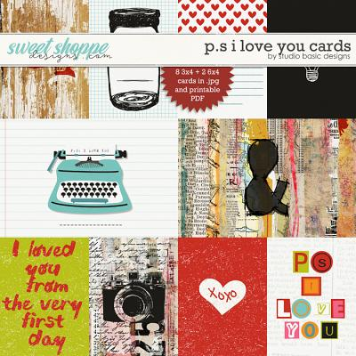 P.S. I Love You Cards by Studio Basic