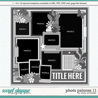 Cindy's Layered Templates - Photo Palooza 11 by Cindy Schneider