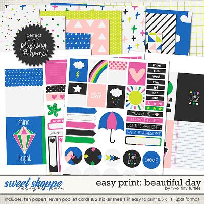 Easy Print :: Beautiful Day by Two Tiny Turtles