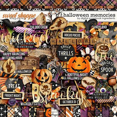 Halloween Memories by Digital Scrapbook Ingredients