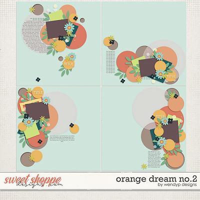 Orange Dream no.2 by WendyP Designs