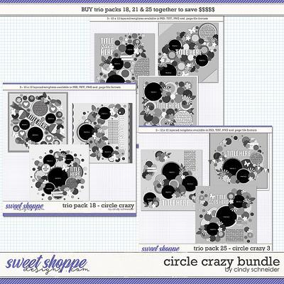Cindy's Layered Templates - Circle Crazy Bundle by Cindy Schneider