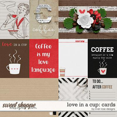 Love in a Cup: Cards by River Rose Designs