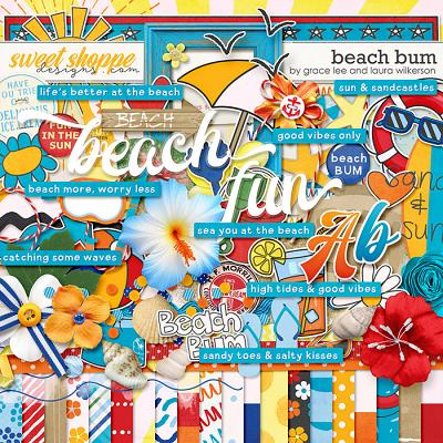 Beach Bum by Grace Lee and Laura Wilkerson