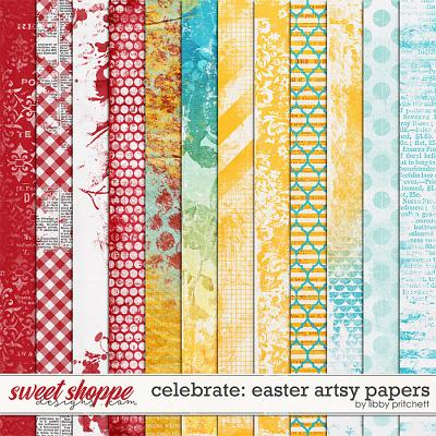 Celebrate: Easter Artsy Papers by Libby Pritchett