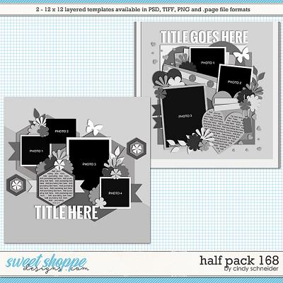 Cindy's Layered Templates - Half Pack 168 by Cindy Schneider