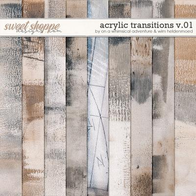 Acrylic Transitions Mixed Media Paperpack by On A Whimsical Adventure