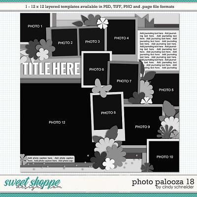 Cindy's Layered Templates - Photo Palooza 18 by Cindy Schneider