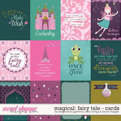 Magical Fairytale Cards by Blagovesta Gosheva, Brook Magee, and Kelly Bangs
