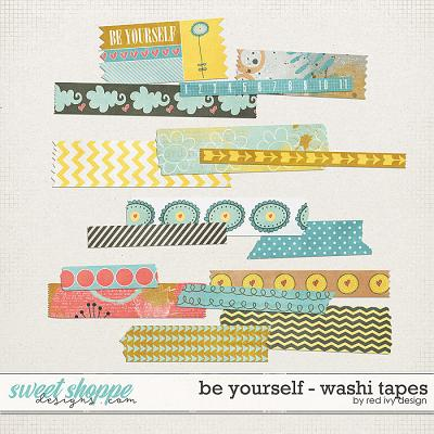 Be Yourself - Washi Tapes by Red Ivy Design